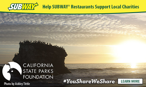 "California | Charity | Nature | Find out how you can join the ""You Share. We Share."" campaign with SUBWAY(r)  to benefit local charities such as the San Francisco California State Parks Foundation."