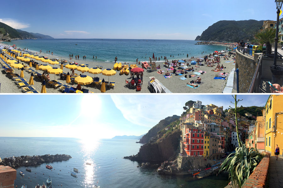 Travel | Travel with Kids | Italy | Travel tips and transportation ideas for visiting Cinque Terre / Cinqueterre in the Tuscany area of Italy.