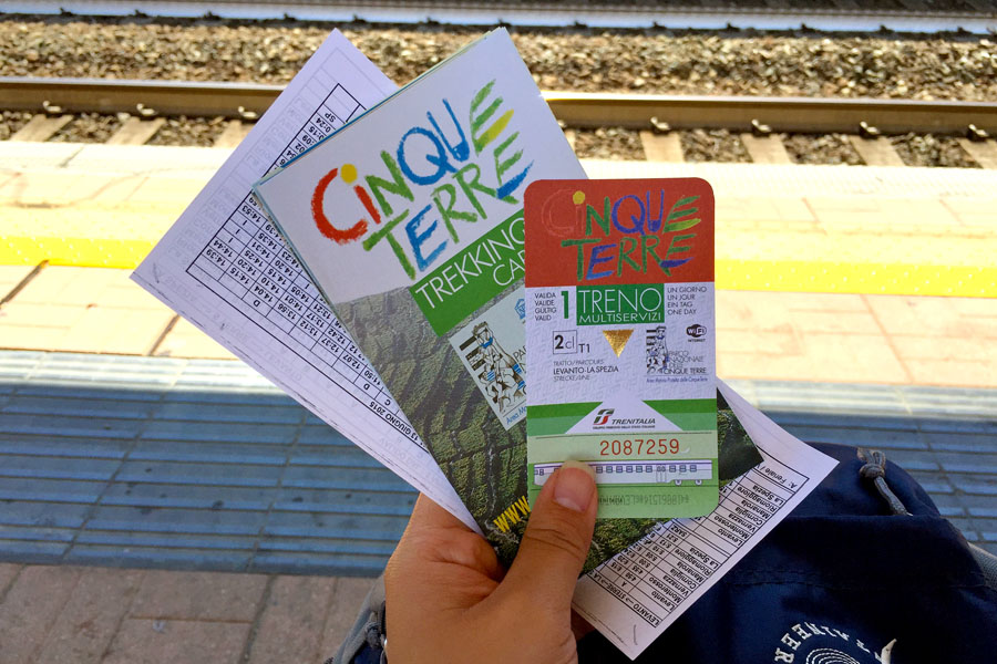 Travel | Travel with Kids | Italy | Travel tips and transportation ideas for visiting Cinque Terre / Cinqueterre in the Tuscany area of Italy. Train tickets