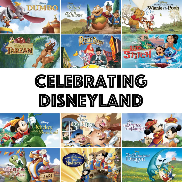 Disney | Disneyland just celebrated it's 60th anniversary with the Disneyland Resort Diamond Celebration. In honor of the park, here are some related movies.
