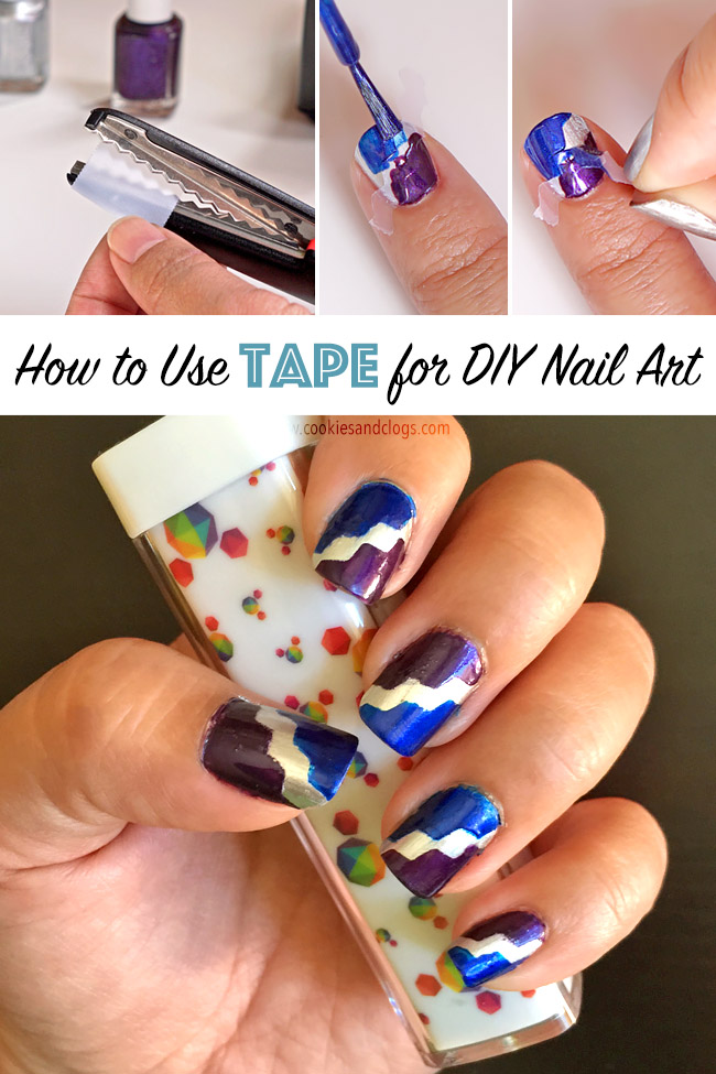 7 Easy Steps to Using Tape for DIY Nail Art at Home