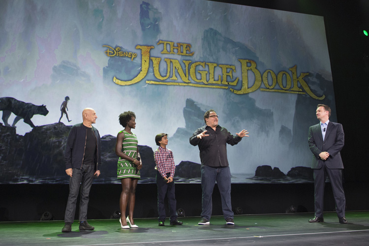 Movies | Live action slate of Disney, Marvel, and LucasFilm at D23 Expo was full of star appearances and surprise announcements. Find out about films Captain America Civil War, Star Wars, The Jungle Book, Alice Through the Looking Glass, and more.