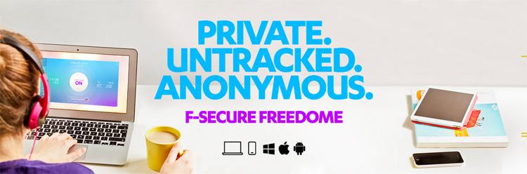Technology | Protect yourself on public wi-fi with F-Secure Freedome VPN. Get details here and a 3-month trial!