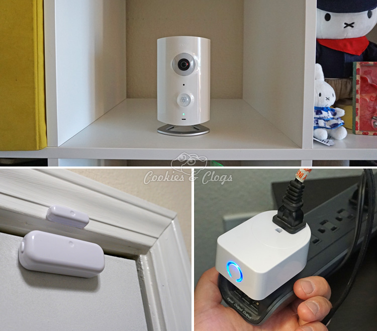 Technology | Home Security | The all-in-one Piper security system includes a 180 degrees camera surveillance, a siren, a fully functional app, and connects with Z-wave accessories. Check out some video recorded and rules we set up.