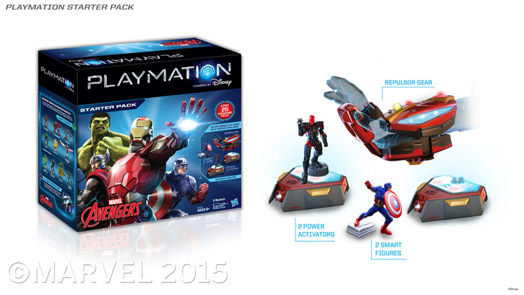 Toys | Combining video games, super hero action, and imaginative play, Playmation immerses kids in missions and encourages them to get active. Marvel's Avengers Starter Pack can be pre-ordered now. See images and video demo.
