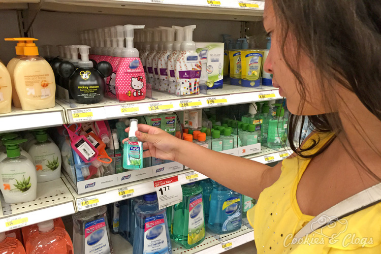 Health | Shopping | We made sure to add PURELL Advanced Hand Sanitizer to our back-to-school list at Target. See why it's been a part of our lives for so long.