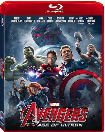 Movies   Entertainment   Marvel's Age of Ultron is out on Digital HD and Disney Movies Anywhere. The 3D Blu-ray and Blu-ray are coming October 5, 2015.