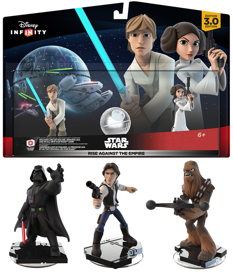 Video Games | Technology | Disney Infinity 3.0 Edition Starter Pack is out and the Rise of the Empire Play Set was just released with Luke Skywalker and Leia. See this family friendly review.