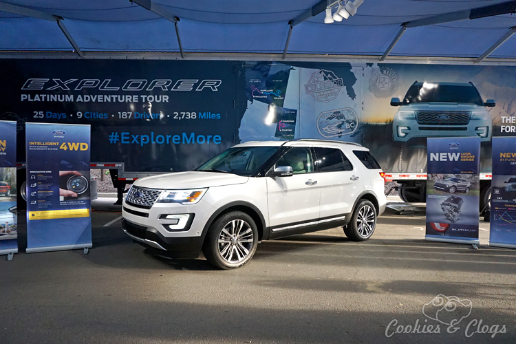 Travel | Cars | To test out the new 2016 Ford Explorer Platinum, I drove from Kamloops to Banff to Calgary in Canada for the Platinum Adventure Tour. Follow #ExploreMore .