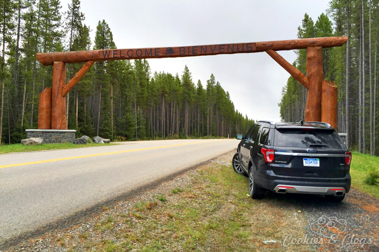 Travel | Cars | To test out the new 2016 Ford Explorer Platinum, I drove from Kamloops to Banff to Calgary in Canada for the Platinum Adventure Tour. Follow #ExploreMore . Bow Valley Parkway