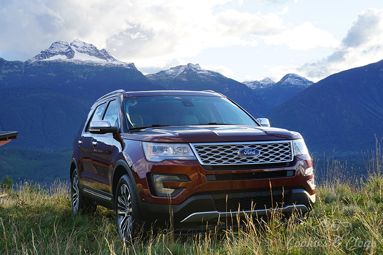 Cars | The 2016 Ford Explorer Platinum is a semi luxury full-size SUV that handles the toughest situation but is wrapped in fine finishes. See how it handles a road trip through Canada.