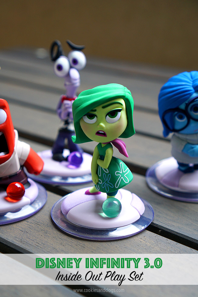 Video Games | The Inside Out Play Set for Disney Infinity 3.0 is something quite different. Anger, Joy, Sadness, Fear, and Anger make balloon collection and two-player nightmare busting fun!