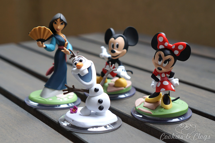 Video Games | The Disney Originals Character Figures for Disney Infinity 3.0 are adorable and fascinating. Try Mulan, Olaf, Mickey, Minnie, or Sam Flynn or Quorra from Tron.