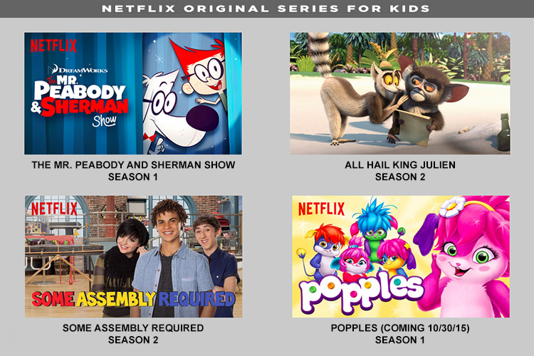 Television | Streaming Media | New Netflix Originals for Kids October 2015 #StreamTeam
