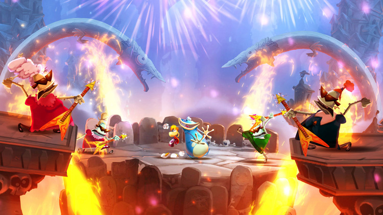 Video Games | Rayman Legends brings back all the fun of the original Rayman and then some. Check out the graphics, music, and gameplay!