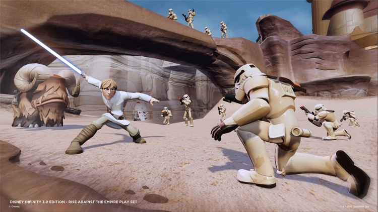 Video Games | The Disney Infinity 3.0 Star Wars Rise Against the Empire Play Set is the best Star Wars Play Set yet. We loved playing Leia and Luke. The other playable character figures and power disc set are fantastic!