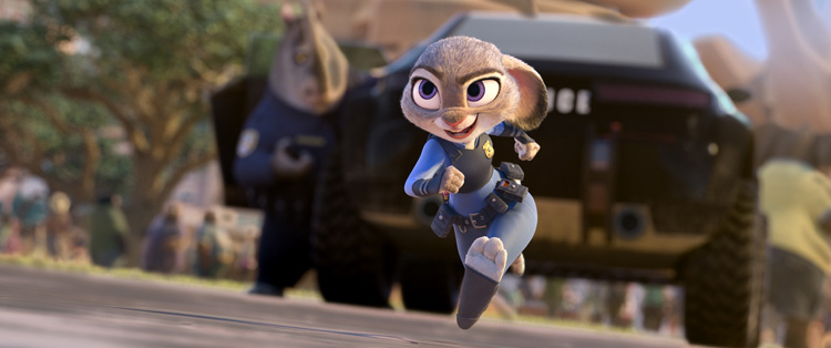 Entertainment | Movies | Disney's Zootopia has a release date of March 4, 2016. Here's Officer Judy Hopps but you MUST see the Sloth Trailer here!