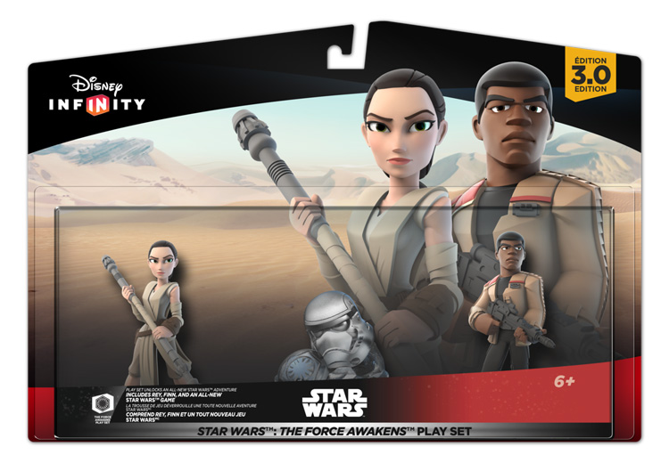 Technology | Video Games | Disney Infinity 3.0 wave four items are out featuring the Star Wars: The Force Awakens Play Set with Rey and Finn, as well as Poe Dameron and Kylo Ren. Check out each of the new offerings here!