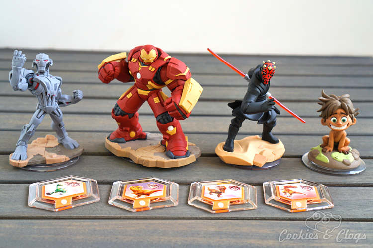 Technology | Video Games | Disney Infinity 3.0 wave three includes Hulkbuster, Ultron, Darth Maul, Spot, and The Good Dinosaur Power Discs. Check out each of the new offerings and see what the best part of play with them is!