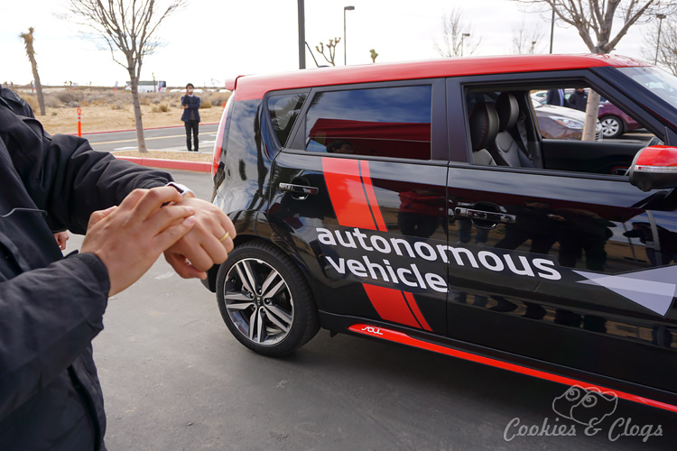Cars | Automotive | See the new Kia autonomous vehicle with their own customized Kia Soul EV cars. See how our test ride went at the California Proving Ground track and find out more about the technology.