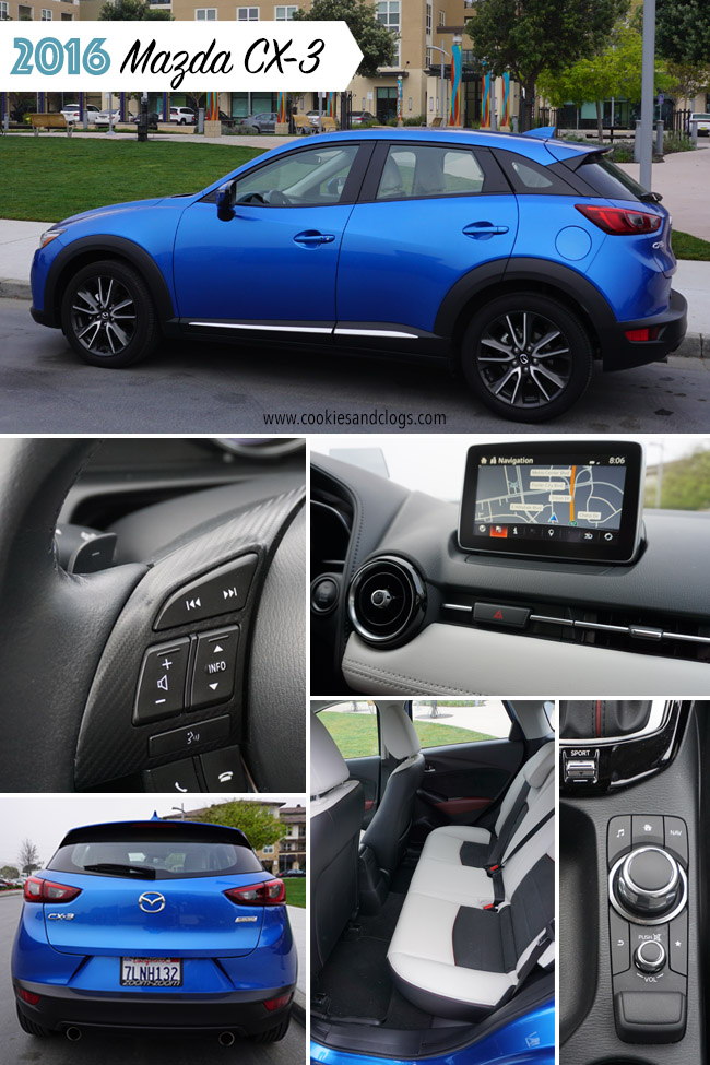 Cars | The 2016 Mazda CX-3 is a subcompact Crossover (CUV) that is sporty and stylish. It's great for 20-something millennials but don't offer much room for even small families.