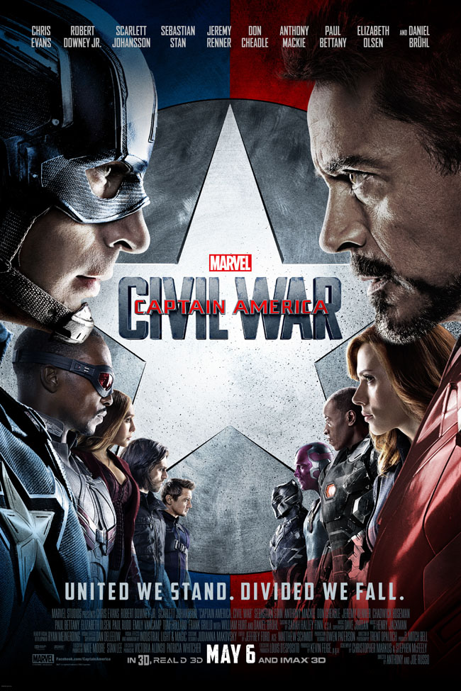 Movies | The new Marvel's Captain America Civil War Trailer will have you siding with either Captain America or Tony Stark. Will you choose #TeamCap or #TeamIronMan ? Maybe the poster will help you decide :)