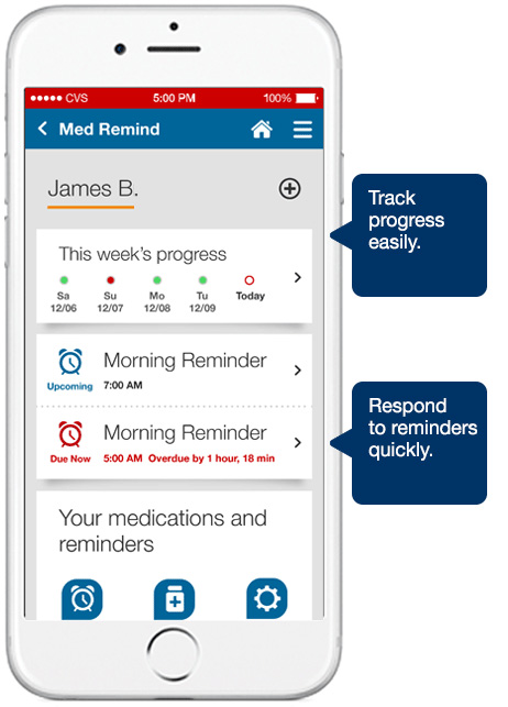 Travel Tips   Health   In case you forget to pack medication for vacation, the CVS app now includes a Mobile Prescription Pickup. Just order, have your app scanned, sign, then go. This is great for those that still forget their meds despite a detailed vacation packing list like me.