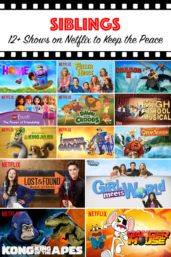 TV Shows | Entertainment | Siblings — It can be hard for sibilngs to agree what tv shows to watch. Here are 12+ shows on Netflix to keep the peace which appeal to kids of all ages.