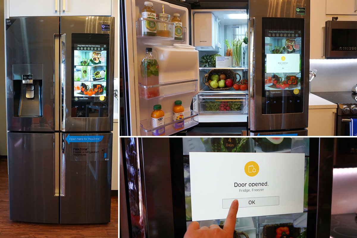 Technology | Home | The new Samsung appliances at Best Buy look fantastic and are loaded with the latest technology. I especially love the Family Hub refrigerator. You need to see my video featuring the FlexZone compartment!