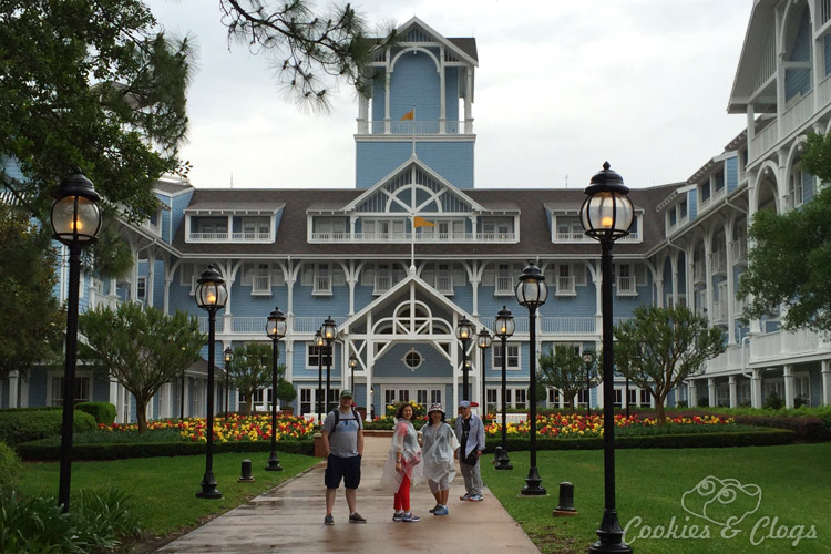Travel | Blogging | Business | We're headed to Walt Disney World in Orlando, Florida again for the 2016 Disney Social Media Moms Celebration. Follow along with the latest announcements from #DisneySMMC 2016! Disney's Beach Club Resort in the rain.