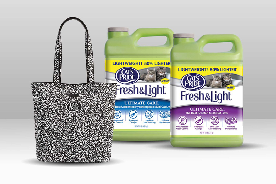 Pets | Cats | June is Adopt-a-Shelter-Cat Month so enter this giveaway from Cat's Pride Fresh & Light Ultimate Care Litter.