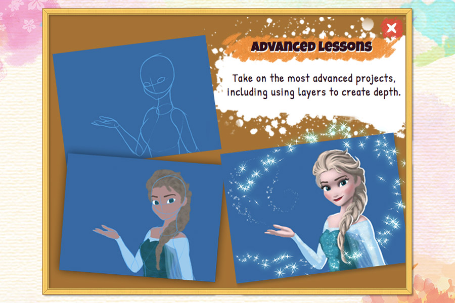 Cookies & Clogs | Video Games | The new Disney Art Academy for Nintendo 3DS has over 80 Disney and Pixar characters to draw and 40 lessons, ranging from starter to advanced. Step-by-step tutorials allow children to learn about the tools, try advanced shapes, practice shading, and master layers. See how my teen daughter enjoyed it in this candid review.