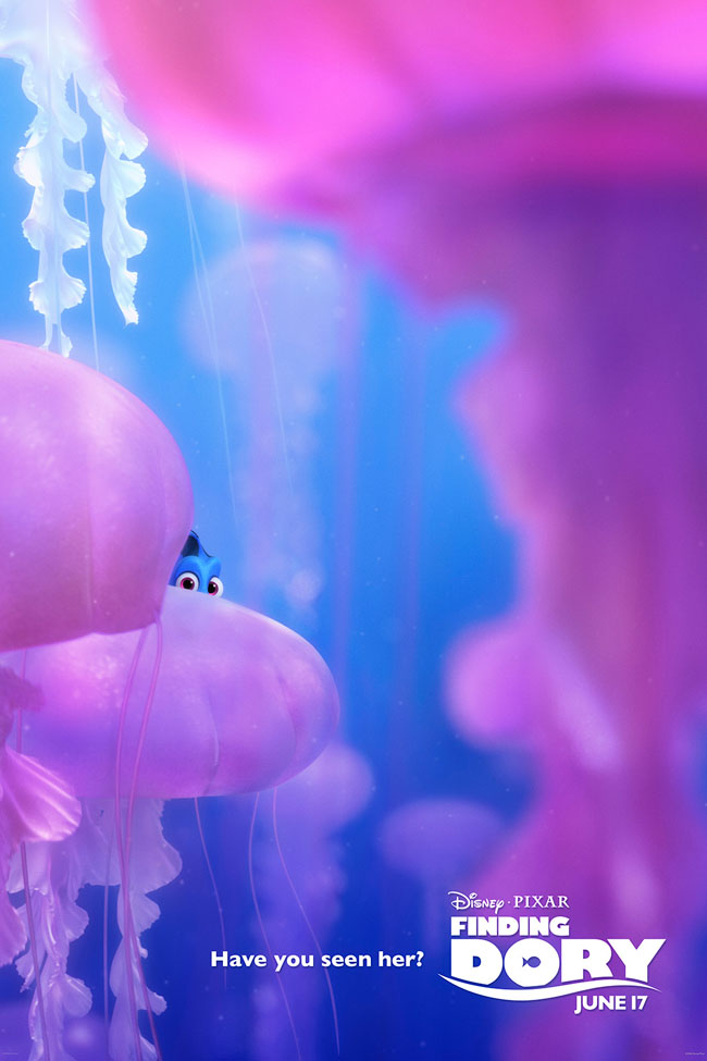 Movies   Disney Pixar   Check out this Finding Dory Promo Poster. Finding Dory and the Piper animated short will be released in theaters on June 17, 2016.
