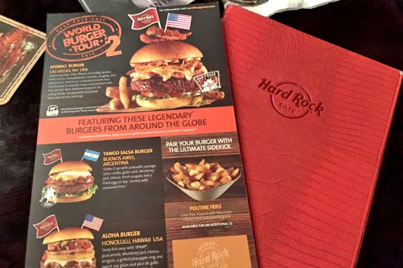 Restaurants | Food | My family and I visited the Hard Rock Care at Pier 39 in San Francisco, CA to try the new World Burger Tour menu. See how we liked it and try it too until June 30, 2016.