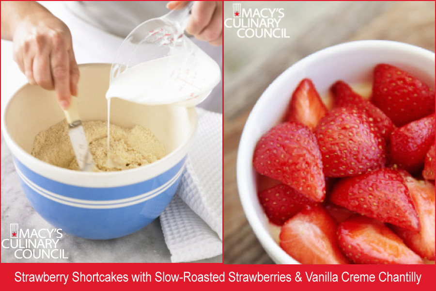 Food | Events | Celebrate National Strawberry Shortcake Day at Macy's during this special cooking demo with Chef Yigit Pura in San Francisco on June 14, 2016. Get the details here. Strawberry shortcake recipe
