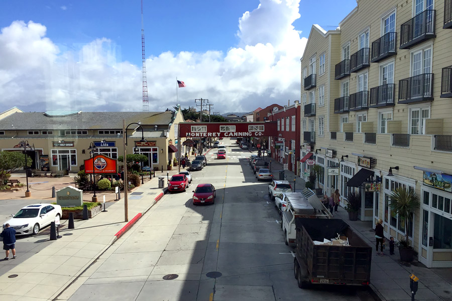 Cookies & Clogs | Travel Tips| When deciding what things to do in San Francisco Bay Area, try these 6 family day trips with kids. Read reasons why you should visit Monterey, Napa, Half Moon Bay, Santa Cruz, and Point Reyes and what to see and do there. Here's Cannery Row in Monterey, CA.