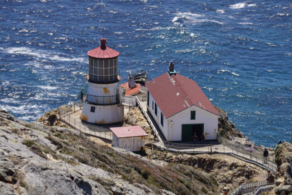 Cookies & Clogs | Want to take a family road trip to Point Reyes National Seashore in Point Reyes, CA? Here are several things to do with the kids including the Point Reyes Lighthouse. See what the climb down is like and if it's worth the trek. Close up of lighthouse