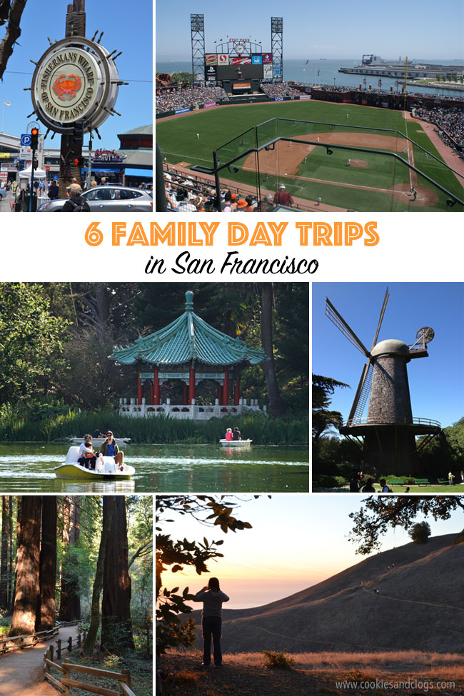 Cookies & Clogs | Travel | Looking for things to do in San Francisco with the family? Try these six day trips to see different parts of the city including Fisherman's Wharf, Chinatown, the Presidio, Muir Woods, and more.