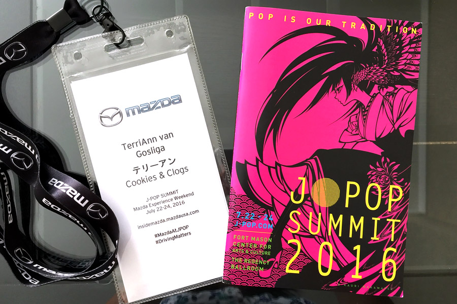 Cookies & Clogs | Entertainment | My family and I attended J-POP Summit 2016 at the Fort Mason Center in San Francisco, CA as a guest of Mazda. See what the event is all about how it's so much fun for families and fans of Japanese music, including a concert video clip.