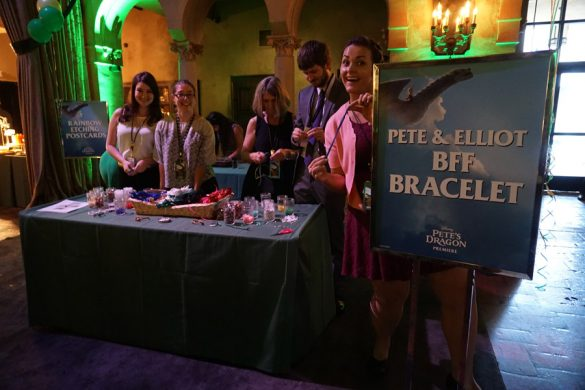 Movies | Disney | The new Pete's Dragon is a reimagined take on the 1977 classic film. I attended the green / red carpet premiere so join me at the event and see the video of what it's like to watch this at the El Capitan Theatre in Hollywood, CA. Bracelet making