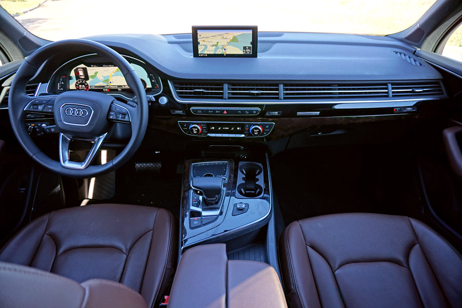 Cookies & Clogs | Cars | The 2017 Audi Q7 is loaded with features and is a perfect SUV for families. See which features work and which don't in this 2017 Audi Q7 review.