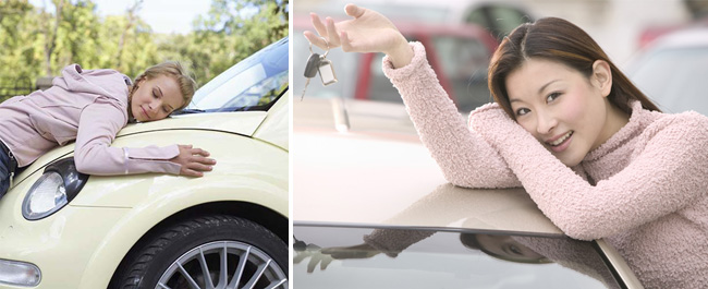 Women and Cars — Girls / Woman That Like Their Cars