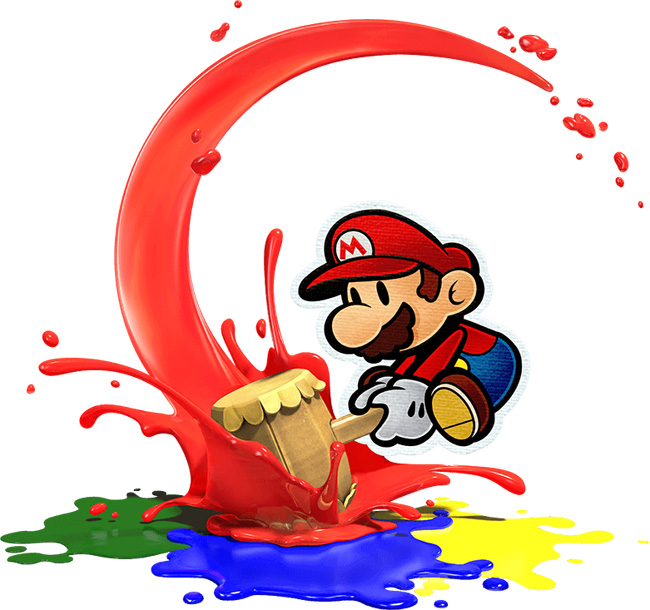 Cookies & Clogs | Looking for a new Wii U family video game? Paper Mario Color Splash is loads of fun for some paint whacking silliness. See the good, bad, and messy in this Paper Mario Color Splash review.