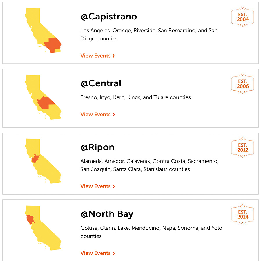 Connections Academy of California virtual school regions