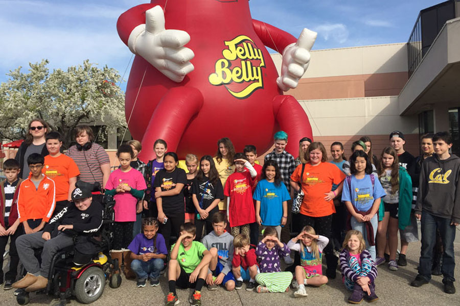 Connections Academy of California virtual school field trip to Jelly Belly Factory