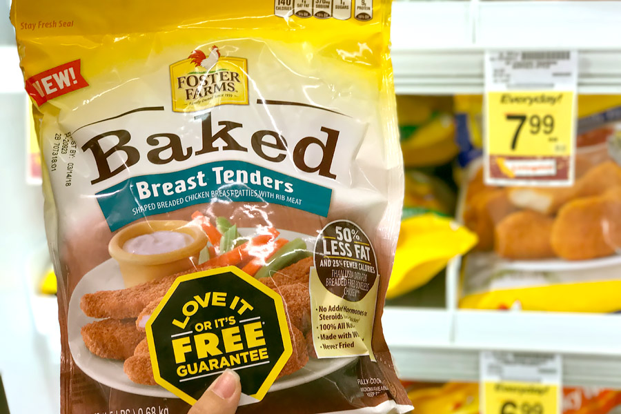 Cookies & Clogs | Foster Farms Baked Frozen Chicken is never fried and is a great addition to chicken salad, chicken with pasta, or chicken and rice. Get Chicken Breast Tenders, Chicken Nuggets, or Chicken Breast Fillets.