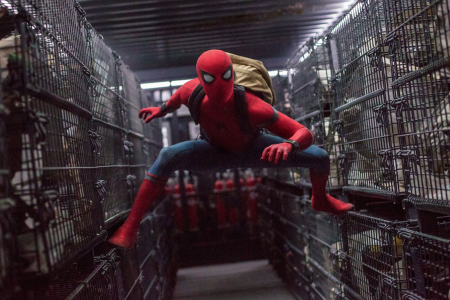 Cookies & Clogs | Exclusive Marvel Spider-Man Homecoming Interview with Tom Holland and Jacob Batalon during set visit in Atlanta, GA. Tom Holland stars as Spider-Man in Columbia Pictures' SPIDER-MAN™: HOMECOMING.