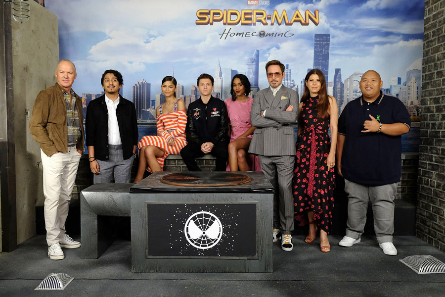 Cookies & Clogs | Spider-Man: Homecoming movie review from pre-screening in New York and San Francisco. New York cast