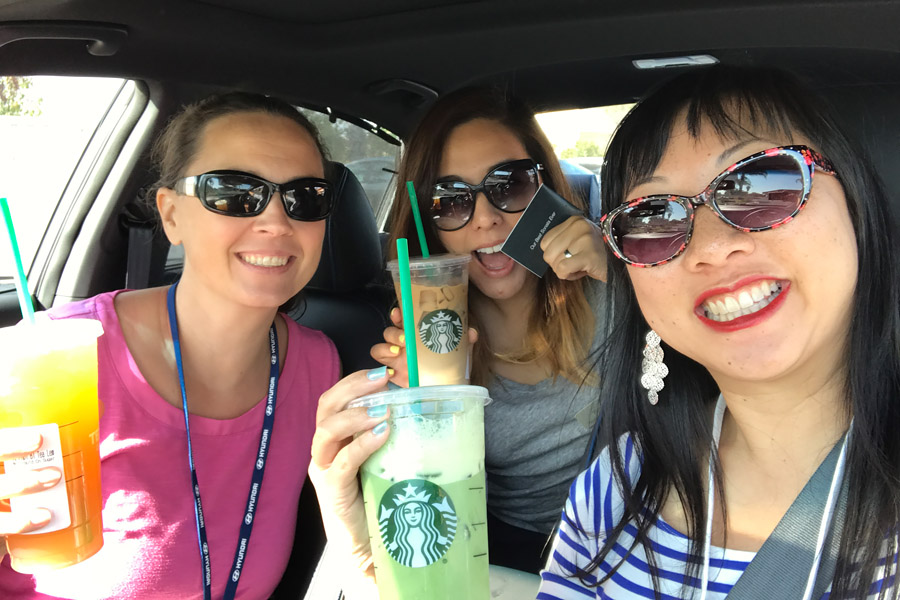 2018 Hyundai Sonata Event - Paying it forward at Starbucks