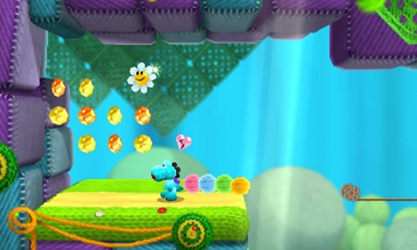 Knitted Fun w/ Poochy & Yoshi's Woolly World for Nintendo 3DS